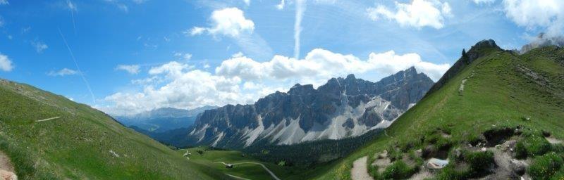 Panorama am Kreuzjoch