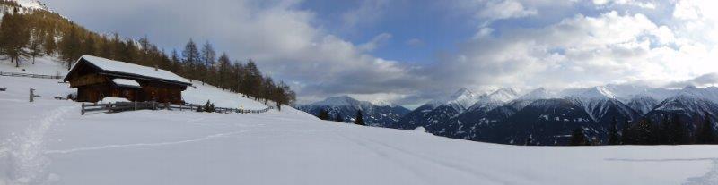 ... und herrliches Bergpanorama