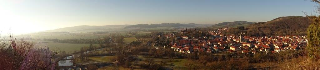 Blick auf Creuzburg