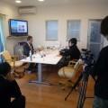 空気ソムリエとしてBSテレビ番組の取材を受けました