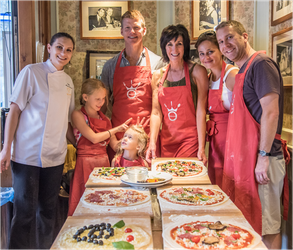 pizza making course in rome food tour in italy