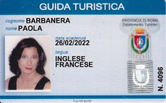 Paola Barbanera - licensed tour guide in Rome and Vatican City