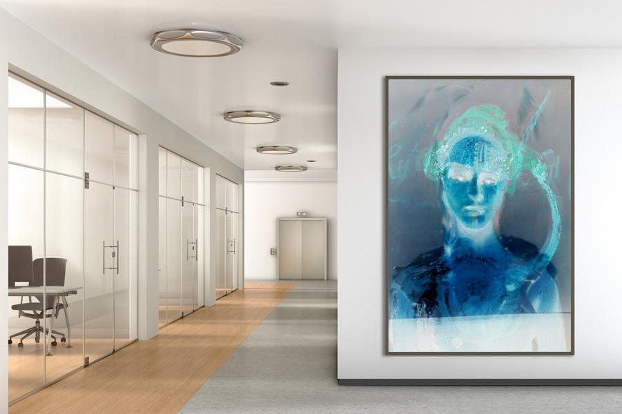 Digital Art bei German artist Eva Kunze