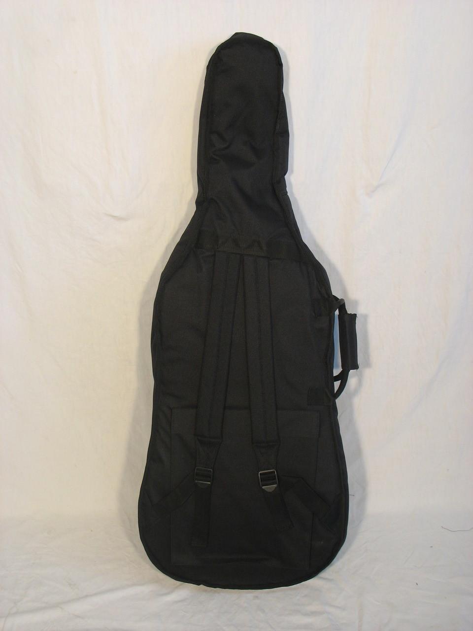 Housse violoncelle 3 4 noire france europe lutherie for Housse violoncelle