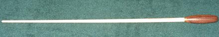 baguette de chef en bois d'érable avec poignée palissandre 52mm