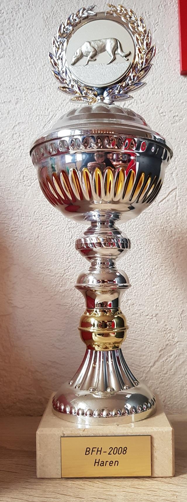 20. Platz SV Bundesfährtenhundprüfung 2008