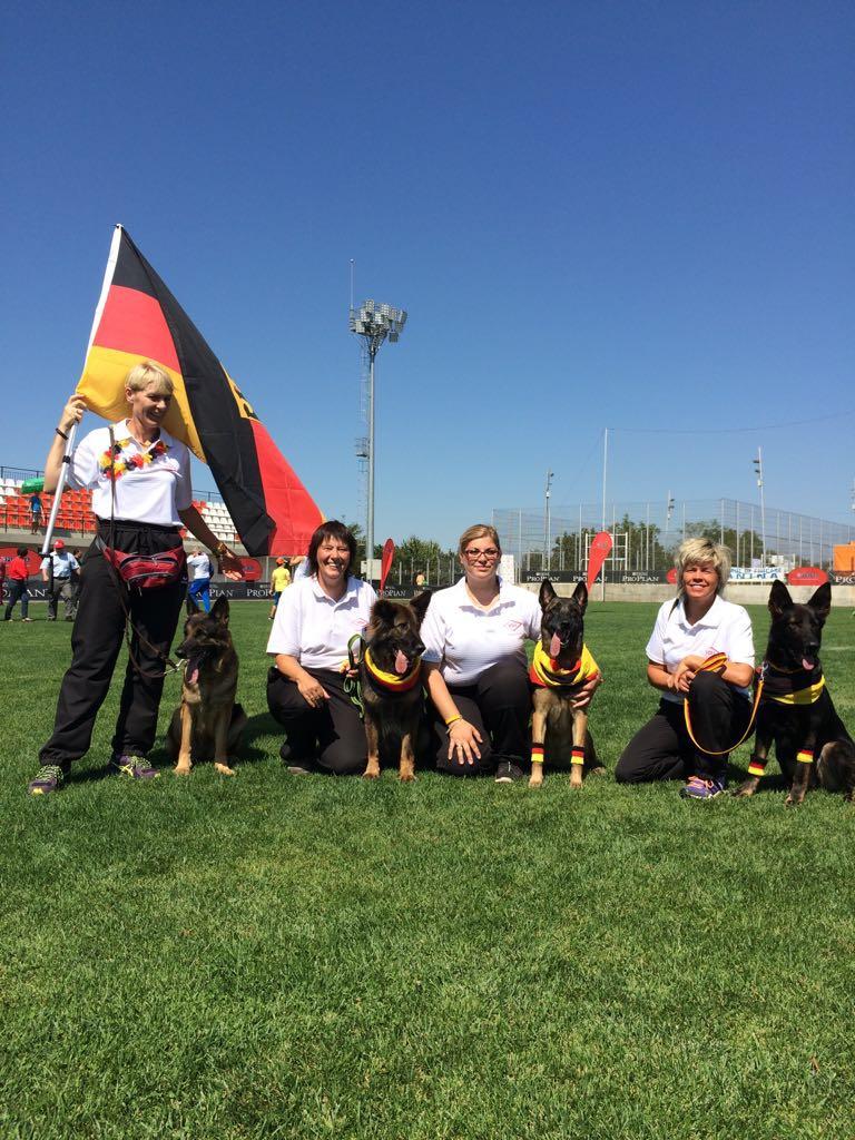 6. Platz FCI Team WM 2016 Fläche; Rumänien
