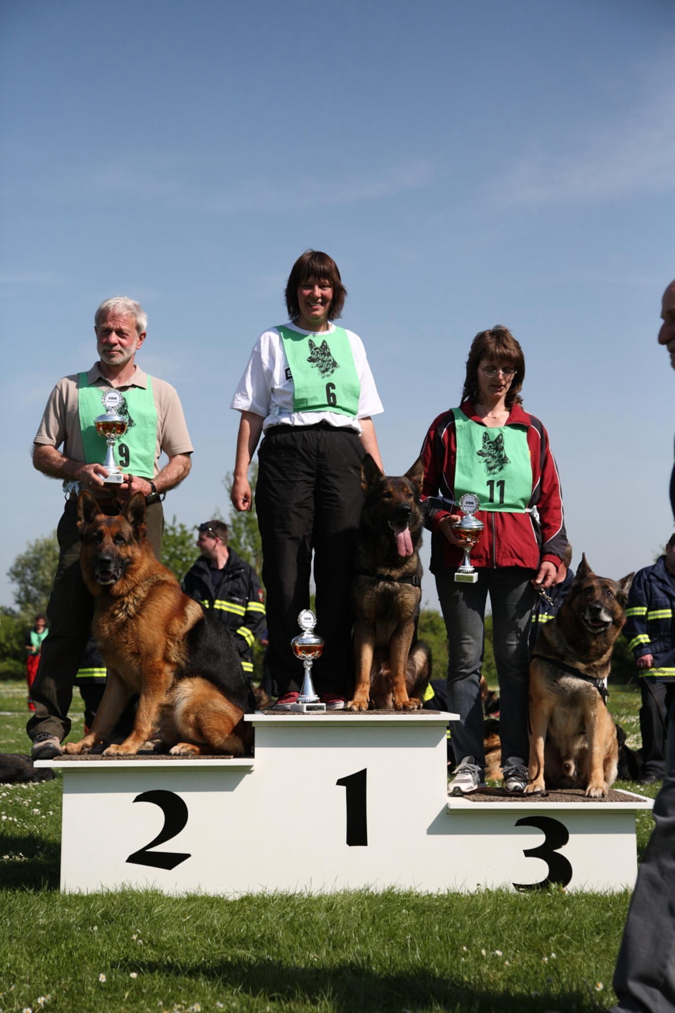 Deutscher Meister 2009 Fährte
