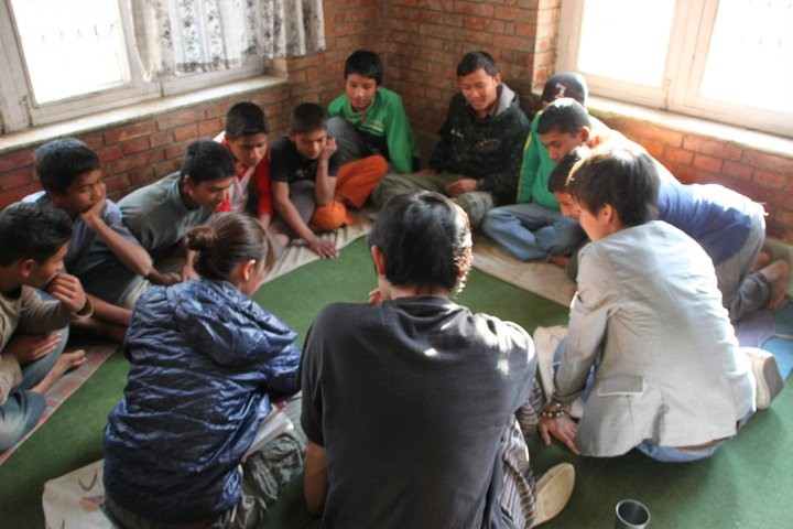 Study tour in Nepal (CWIN)