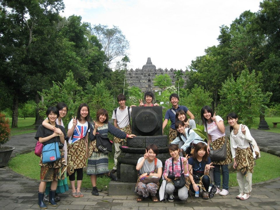 Study tour in Indonesia (Borobudur -World Heritage)