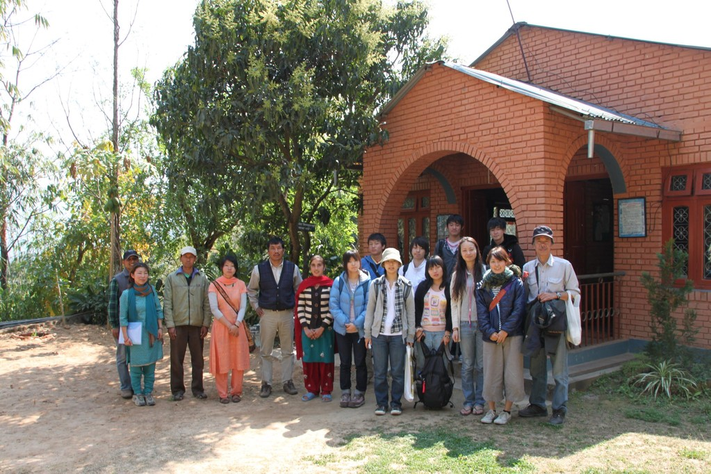Study tour in Nepal (Love Green Japan)