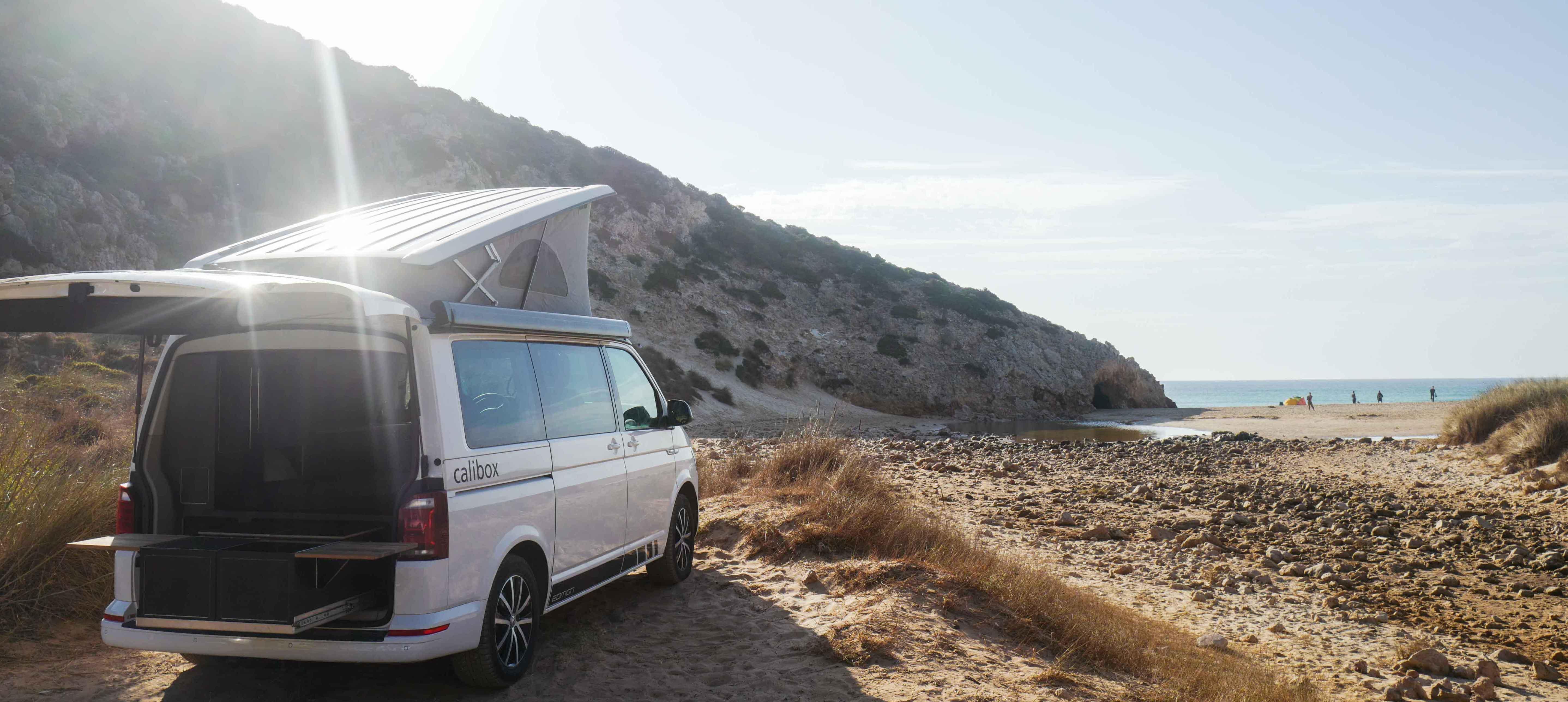campingausbau vw california beach t5 und t6 calibox. Black Bedroom Furniture Sets. Home Design Ideas