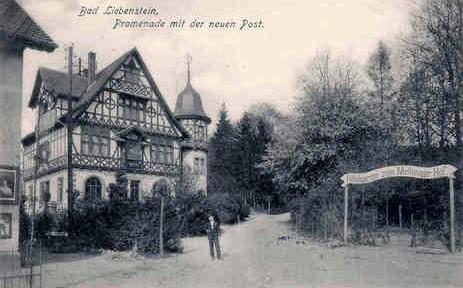 Postvorplatz um 1900 - Archiv W.Malek