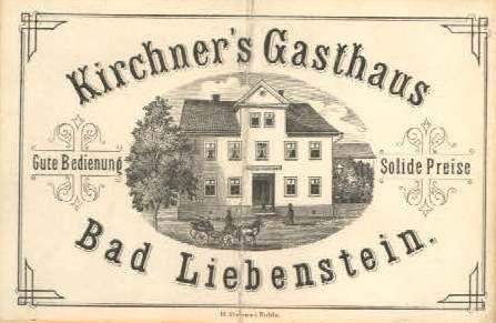 Gasthaus von Johann Michael Kirchner, Zustand von 1859 -  Archiv Volker Henning