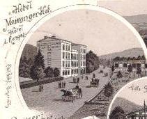 Lithographie Meininger Hof 1897