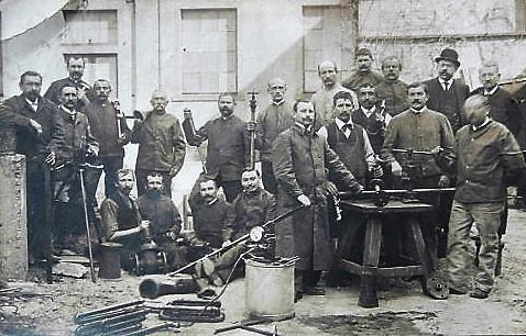 Rohrleger Klempner Pumpenbauer 1910 Gera Debschwitz Reuß Fotolabor