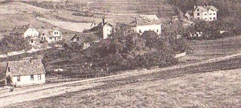 Brauhaus Georg Heym und Voigtei ( in der Mitte ) - Aufnahme 1905 - Archiv W.Malek