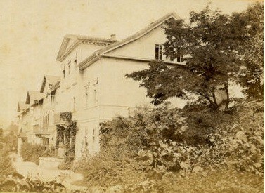 Aufnahme ca 1870 - Vorderansicht - Repro W.Malek