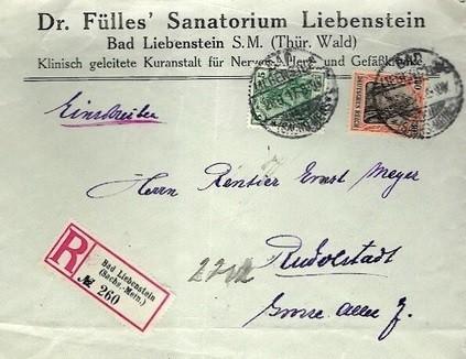 Brief von 1917