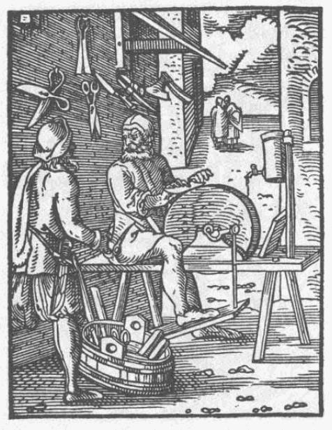 Schleifer um 1568 -  gemeinfrei