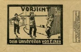Lohntüte Glaserei Hopf 1920er