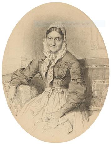 Vermutlich die Ehefrau von Doebners Bruder August Wilhelm - auch von Samuel Diez