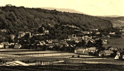 Blick vom Marinethaler Wäldchen vor 1892