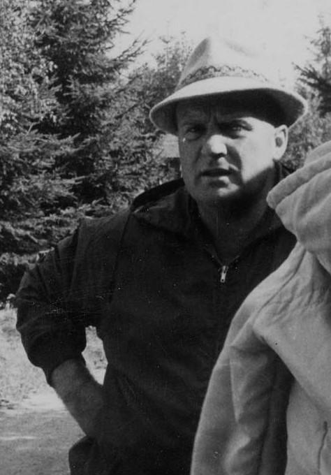 Portrait Otto Scharfenberg zirka 3 Jahre vor seinem Tod
