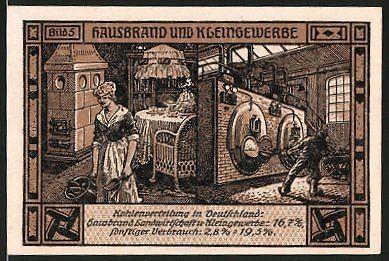 Hausbrand und Kleingewerbe 1921