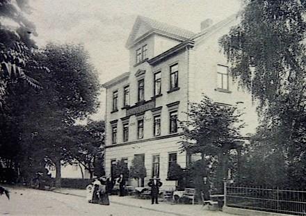 Schneiders Hotel vor 1904 - Sammlung Werner Schlechtweg
