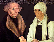 Hans & Margarethe Luther von Lucas Cranach d.Ä.