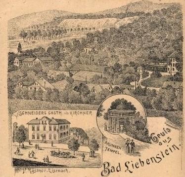 Ansichtskarte gelaufen 1892 - Recherche Jürgen Roth