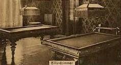 Billardzimmer - Archiv Volker Henning