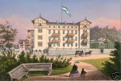 Meysel Darstellung 1860er Jahre kurz nach der Eröffnung