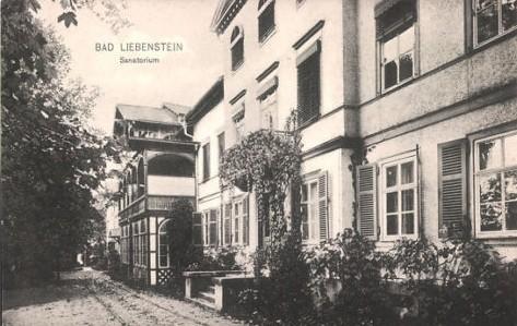 Sanatorium (Vorderseite) - Archiv W.Malek