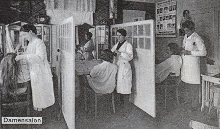 Damensalon Karl Herrmann - Sammlung Jörg Bodenstein