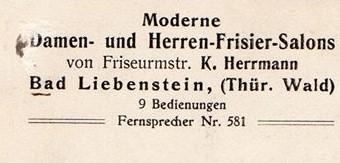 Rückseite Ansichtskarte - Sammlung Jörg Bodenstein