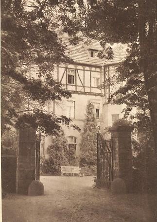 Ansichtskarte vom 05.05.1943, Eingang von der Esplanade - Archiv W.Malek