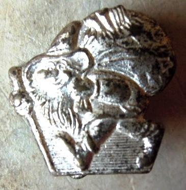 Abzeichen Altstoffsammler in Silber