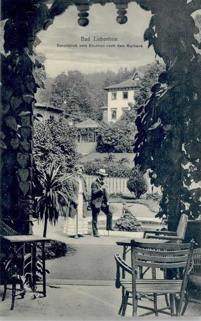 Karte von L. Otto Weber, Hofphotograph, Meiningen aufgenommen vor 1913