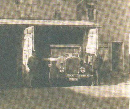 Busgaragen Logierhof 1931