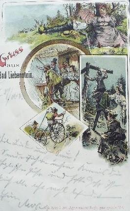 Ansichtskarte von 1902