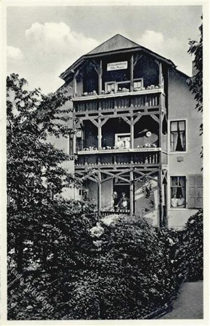 Villa Marie 1940 - Archiv W.Malek