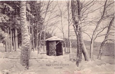 Mooshütte, Ansichtskarte gelaufen 1910