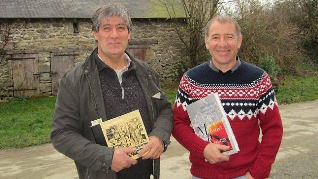Jacques Johan (à gauche) et Jean-Claude Maignan portent le projet avec beaucoup d'enthousiasme.