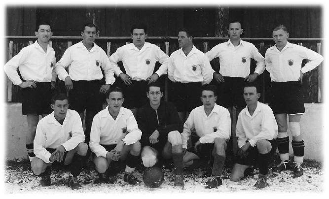1946/47 Cupspiel gegen Schattdorf in der Saison