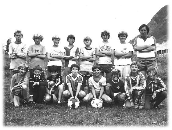 1982: Juniorenlager in Schanf