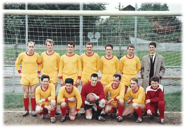 Anfangs 1960, Spiel in Emmen