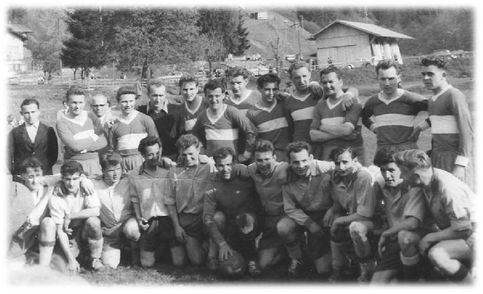 Freundschaftsspiel in Oberstdorf (Deutschland)