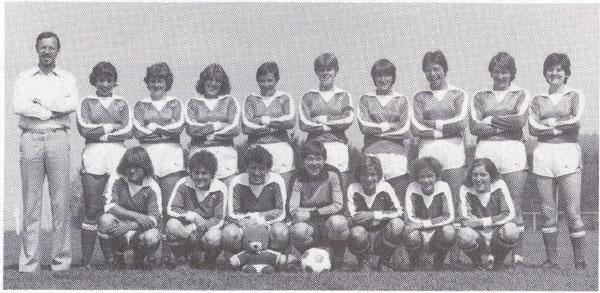 Mannschaftsfoto Damen Saison 1978/79, Aufstieg in die 1. Liga